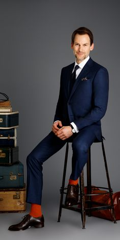Get this blue birdseye suit made with Vitale Barberis Canonico, Super 150s wool made to your exact measurements and customized just the way you want it.