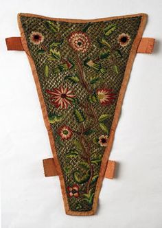 Object Name  Stomacher  Date  1720s