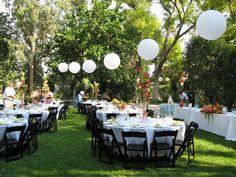 Outdoor Wedding Decoration