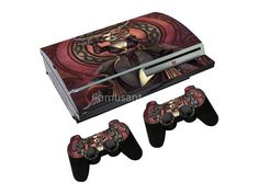 Cheap stickers for, Buy Quality stickers for sony directly from China stickers stickers Suppliers: Snake Scales Protective Sticker For Sony Playstation 3 Fat Skins Console With 2 Controller Cover Ps3, Playstation, Snake Scales, Sony, Console, Video Games, Stickers, Cover, Videogames