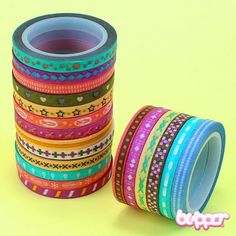Paper Deco Tape - Thin  (plus lots of Kawaii things at this website...)
