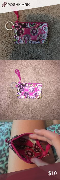 Vera Bradley card holder/keychain Cute little Vera Bradley card holder and keychain combo! Vera Bradley Bags Wallets