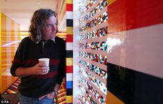 Top Gear presenter James May has just built the world's first full-size Lego house – including a working toilet, hot shower and a very uncomfortable bed – using plastic bricks. James May, Lego Building, Green Building, Legoland Theme Park, Lego Decorations, Innovation, Lego Blocks, Unusual Homes, Lego Design