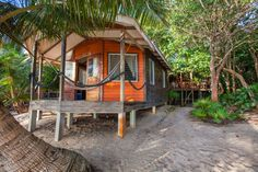 Beach house in Belize