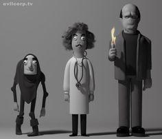 Young Frankenstein figures by Kibooki.