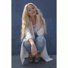 Shirin David, Youtube Stars, Trends, Nicki Minaj, Fashion Killa, Personal Style, Kimono Top, Style Inspiration, Chic