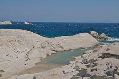 Sarakiniko beach ,Milos island