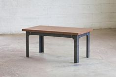 Bold MFG's Kindred Table Base Series allows you to easily configure your own custom steel table base to use with any table top you'd like. This table base syste