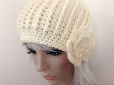 http://pinterest.com/kathrynvercillo/   finished: front- and back-post crochet beanie; kathryn vercillo
