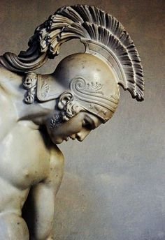 The Wounded Achilles. 1842. Innocenzo Fraccaroli. Italian 1805