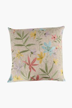 This crewel embroidered floral scatter cushion in pastel hues is a great way to add some interest to your decor. Strategically place on your favorite couch Cushions, Decor, Decor Gifts, Scatter Cushions, Living Room Cushions, Home Decor, Home Decor Shops, Throw Pillows, Pastel Hues