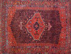 Garrus Bidjar Carpet, Northwest Persia, late 19th/early 20th century, 11 ft. 6 in. x 9 ft.    | Skinner Auctioneers Sale 2347
