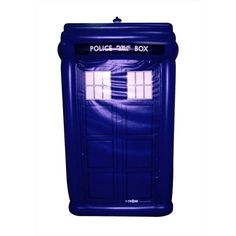 Doctor Who Inflatable TARDIS Stands Over 5-Feet Tall!