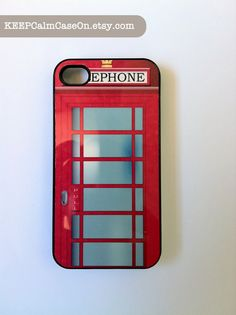 phone booth phone case