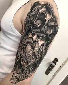 Berserker Tattoo On Shoulder Tattoo Shoulder Tattoo - Berserker Tattoo On Shoulder Best Tattoo Ideas Gallery Berserker Tattoo On Shoulder By Fredao Oliveira Peace Tattoos Baby Tattoos Wolf Tattoos Flower Tattoos Skull Tattoos Tribal Tattoos Body Art Simbols Tattoo, Tattoos 3d, Bear Tattoos, Feather Tattoos, Trendy Tattoos, Back Tattoo, Arm Band Tattoo, Body Art Tattoos, Tribal Tattoos