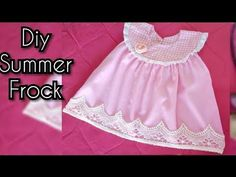 793a9c2cb2590 Baby Summer Frock Design Tutorial Easy To Make At Home Latest Design 2018