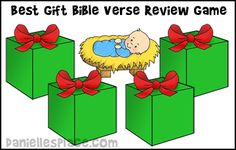 Jesus, Best Gift Bible Game from www.daniellesplace.com