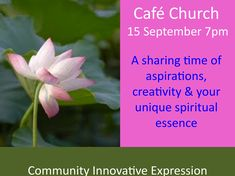 Our worship lies at the heart of all we do. In its participative celebration and use of contemporary forms we seek to communicate in a style which is open to those who may be alienated from traditional religious forms. We invite you to come and join.