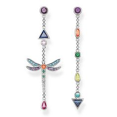 Complete your look this summer with these unique and colourful sterling silver Dragonfly Earrings from our Thomas Sabo collection @ www.rocks.ie  #rocksjewellery #graftonstreet #stillorgan #Dublinjewellers #irishjewellers #linksoflondon #Swatch #longines #diamonfire #emporioarmani #engelsrufer #fliklak #tissot#chlobo #thomassabo #lululadybird #mimoneda #orbitkey #Rado