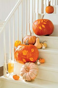 Etching will leave an artful design on your pumpkin. The technique allows your…