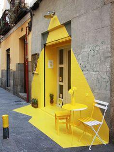 Installazione ristorante vegano Fos_Madrid