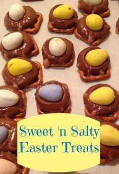 sweet n salty easter treats
