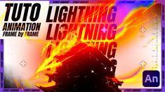 TUTO Animation 2D | SUPA⚡⚡ Éclair Level 2 Dojo, Animation, 2d, Samurai, Neon Signs, Frame, Artist, Picture Frame, Animation Movies
