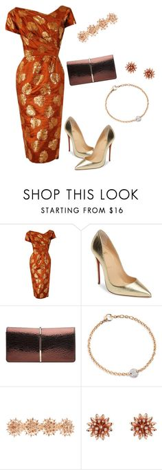 """""""Early 60s"""" by arlecia1988 ❤ liked on Polyvore featuring Ceil Chapman, Christian Louboutin, Nina Ricci, Pomellato, Accessorize and Gucci"""