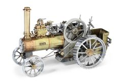 A scratch built model of a traction engine Rob,