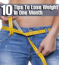 25 Simple Tips To Lose Weight In One Month