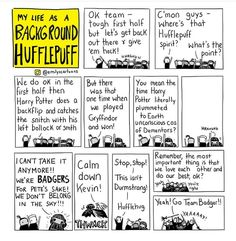 My life as a background Hufflepuff