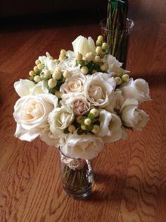 All Creamy/White Bouquet