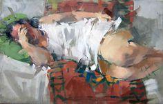 "Painting by Maggie Siner - ""Traviata"""