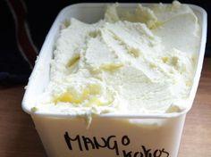 Mango-kokos ijs