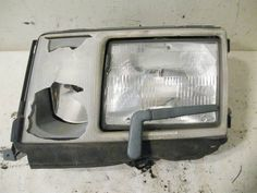 Headlight Assembly Left W124 Mrcedes 300e 1248202159