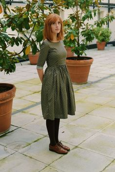 Bramble Dress by IsabelKnowles on Etsy                                                                                                                                                                                 More