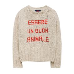 Bull Alpaca and Sheep Wool Knit Jumper-product
