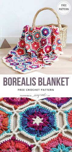 Borealis Blanket Free Crochet Pattern on Easywool.com #crochetfreepatternforbaby #crochetfreepatternforblanket #crochetbabyblanket #crochetstitch #crochet #crochetfreepatternsforlady #crochet #shellstitch #freecrochetPatterns #freecrochetPatterns #afghan #freecrochetPatternsforafghan #freecrochetPatternsforblanket #crochetstitch #crochet #crochetfreepatternsforhome #afghan #freecrochetPatternsforafghan #freecrochetPatternsforblanket #crochetstitch #crochet