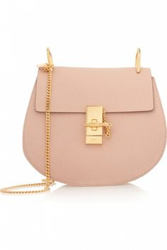 Chloé Drew Medium Textured Leather Shoulder Bag