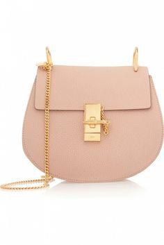 Chloé Drew Medium Textured Leather Shoulder Bag