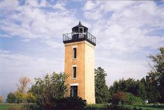 Peninsula Point Light - south of Stonington, MI