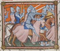 Vincent de Beauvais, Speculum historiale, traduction française par Jean de Vignay. Vol. I (Livres I-VII)  Date d'édition :  1370-1380  NAF 15939  Folio 62r