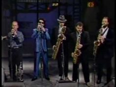 Tower of Power  Horn section [Squib Cakes] on David Letternan - Doc is still the greatest Baritone sax player that ever lived!!