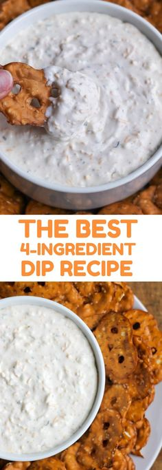This recipe for The Best 4-Ingredient Dip Recipe: Beer Cheese Dip only requires a few simple ingredients and just minutes to make! Who doesn't love a good dip?! This beer cheese dip recipe is one of my all-time favorite dips to make because it only requires a few ingredients and seriously couldn't be easier. I...