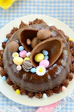 Easter Chocolate Cake - 12 Easter Cakes That'll Impress Anyone on the Dinner Table recipes dinner recipes dinner easy recipes dinner healthy recipes dinner keto recipes dinner meat recipes dinner video Chocolate Easter Cake, Decadent Chocolate Cake, Chocolate Chocolate, Easter Cake Easy, Easter Treats, Easter Cupcakes, Easter Food, Easter Bunny, Baking Recipes