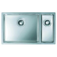CHIUVETA DE BUCATARIE ALVEUS COLECTIA QUADRIX 150- F STANGA , MONTAJ LA NIVELUL BLATULUI DIN INOX - Iak Washing Machine, Home Appliances, House Appliances, Appliances
