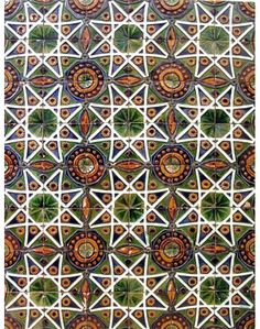 Rafael Bordalo Pinheiro - azulejos de inspiração mourisca