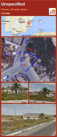 Unspecified for Sale in Pinoso, Alicante, Spain - A Spanish Life Murcia, Valencia, Portugal, Alicante Spain, Spanish, Urban, Building, Water, Life