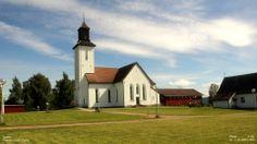 fiskum church, norway | med utsikt over eikeren finner vi fiskum kirke fiskum kirke