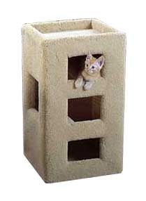 Cat furniture, cat supplies, pet furniture, cat houses, cat beds, cat scratching posts, cat trees, toys, gifts and condos from 7th Heaven Cat Furniture....